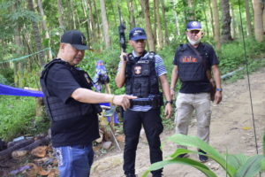 ตำรวจภูธรภาค 2 ไล่ล่ากดดันผู้ค้ายาไอซ์ลอยทะเล พื้นที่เกาะกูดคาดผู้ค้ารายใหญ่กบดานในพื้นที่