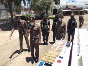 รอง ผบช.ภ.3 แถลงขยายผลจับกุมยาบ้า  62,000 เม็ด พร้อมของกลางอีกจำนวนมาก