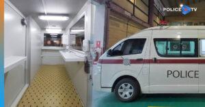 ผู้บัญชาการตำรวจแห่งชาติ เร่งผลิตรถตู้ตรวจโควิด-19 เชิงรุกให้ประชาชนและเจ้าหน้าที่ตำรวจ