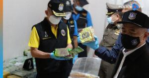 ตำรวจปราบปรามยาเสพติดจับ 7 ผู้ต้องหา คาบ้านเช่าในอยุธยา ซุกยาบ้า 7 ล้านเม็ด ยาไอซ์ 300 กิโลกรัม ยาเค 184 กรัม
